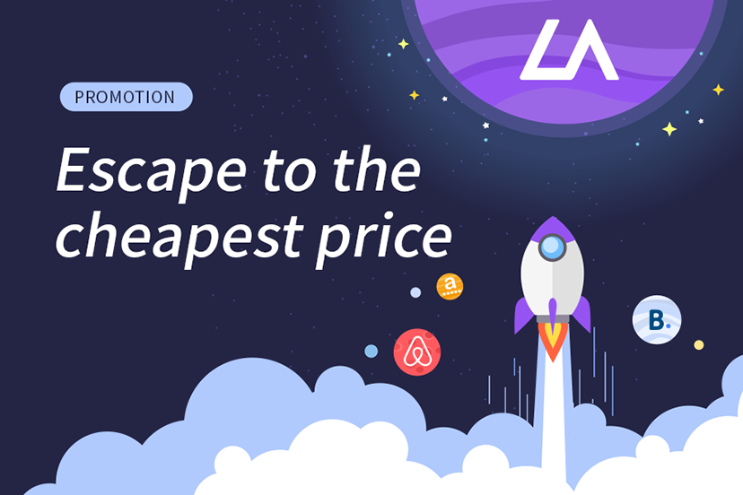 [Promotion] Escape to the Cheapest Price !!