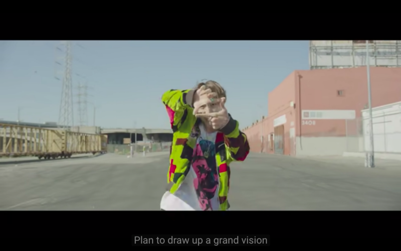 WeHome Pose by J-Hope in 'Chicken NoodleSoup'
