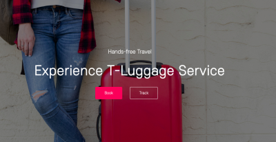 Pleasant Trip with Handfree T-luggage